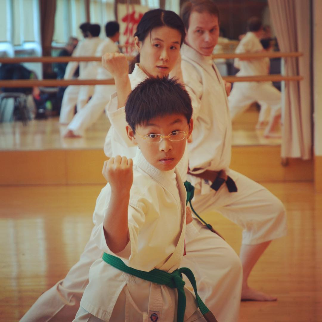 Awesome focus during karate training mindfulness Read more rarr