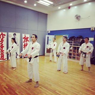 The calm before the action Ueshiro HongKong Karate Mindfullness Focushellip